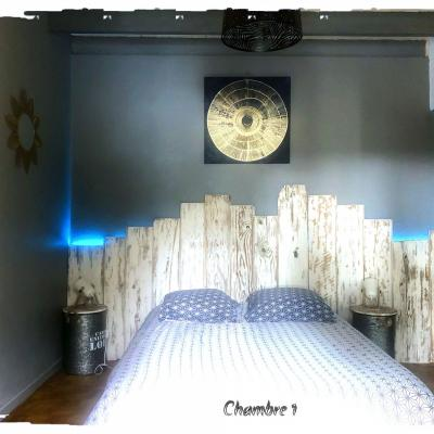 4 chambres + 1 dortoir +1 mezzanine
