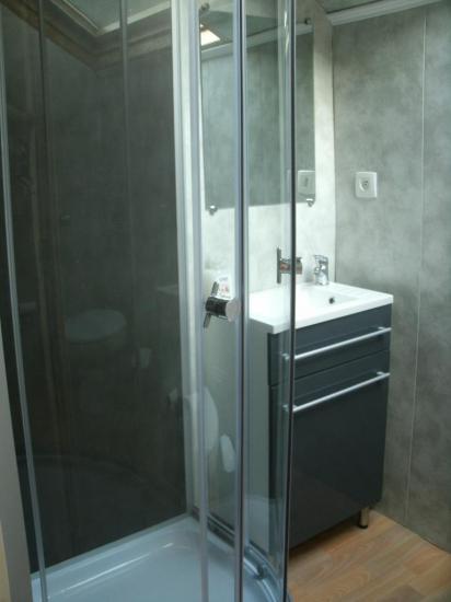 Salle d'eau (3) + toilettes
